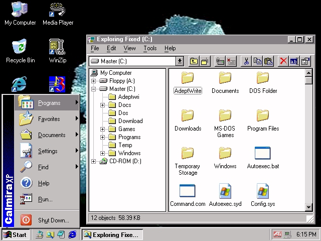 calmira windows 3.1